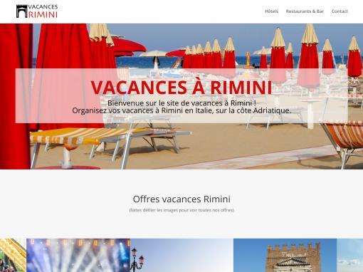 Vacances à Rimini